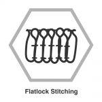 Talis Crew Flatlock Stitching