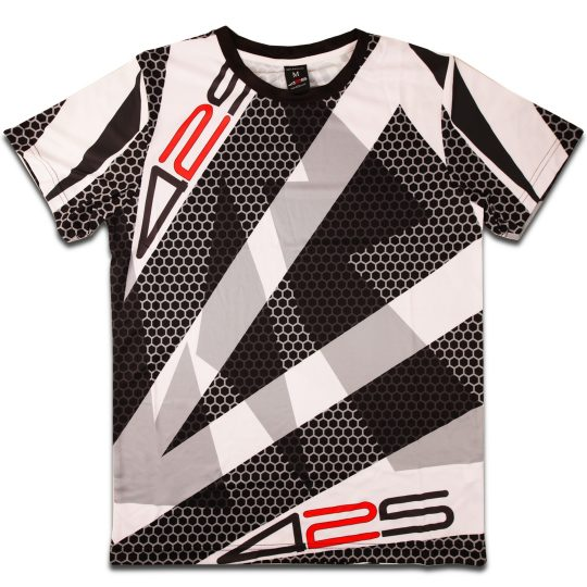 425pro 2018 mana jersey black white regular fit