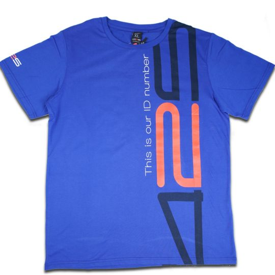 425pro 2018 mana tshirt blue regular fit