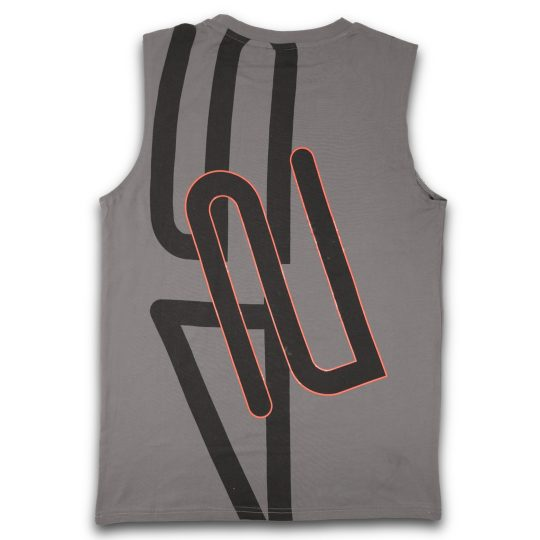 425pro 2018 mana sleeveless dark grey regular fit