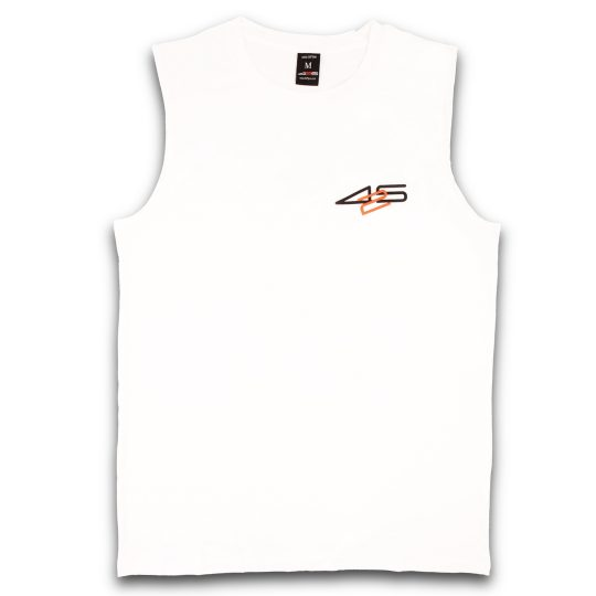 425pro 2018 mana sleeveless white regular fit