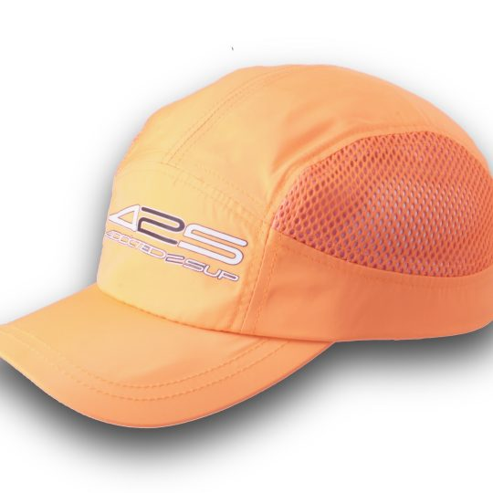 quick dry cap orange