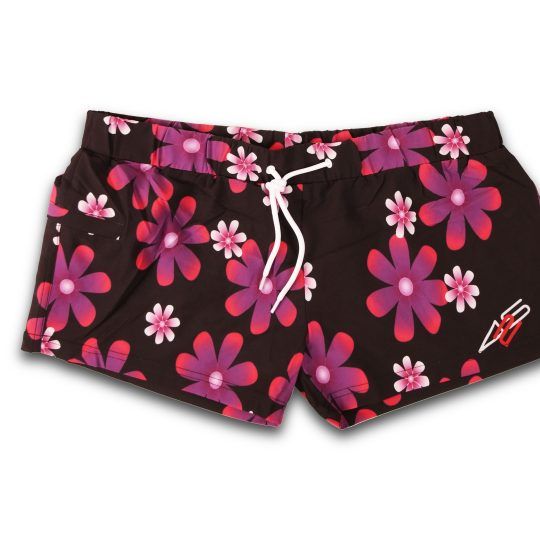 425PRO 2018 Mana Board short pink flowers