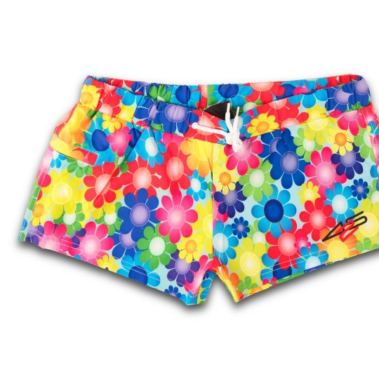 425PRO 2018 Mana Board short multicolor flowers