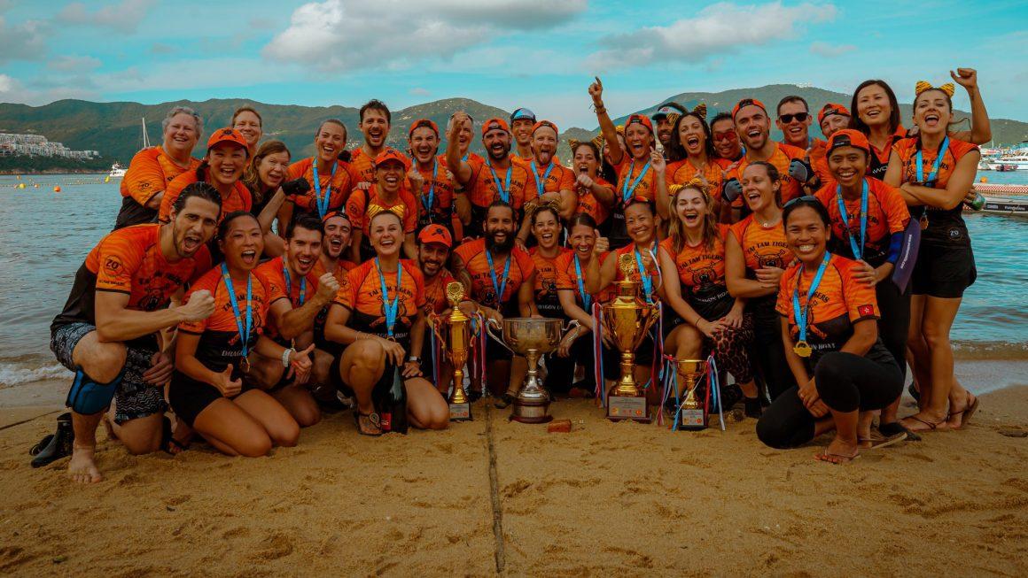 Stanley international dragon boat mixed champions 2019 tai tam tigers