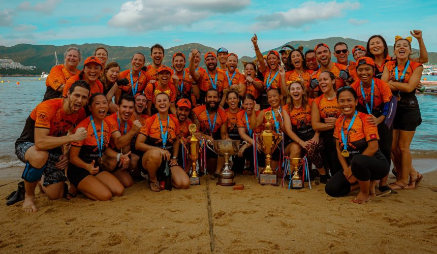 Stanley international dragon boat mixed champions 2019 tai tam tigers